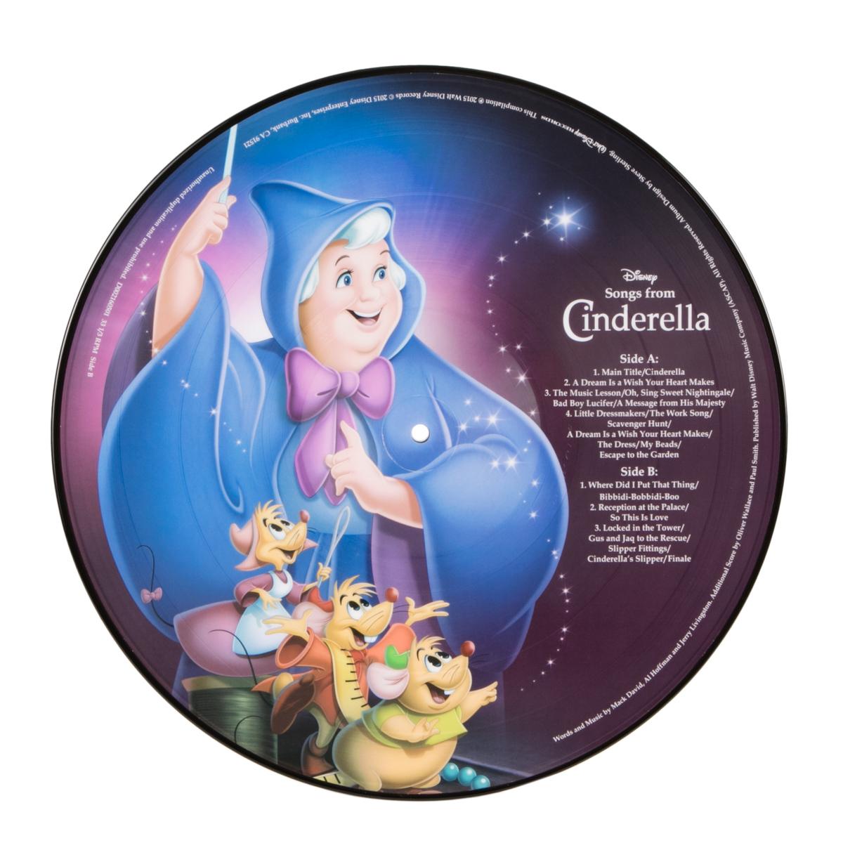 Cinderella Picture Vinyl
