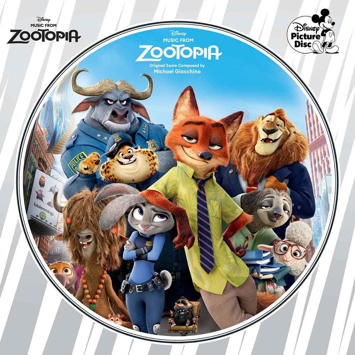 Music from Zootopia Picture Disc Vinyl