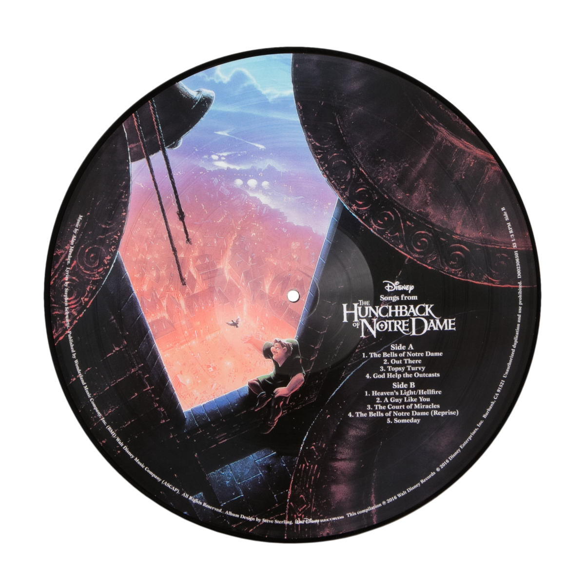 The Hunchback of Notre Dame Picture Vinyl