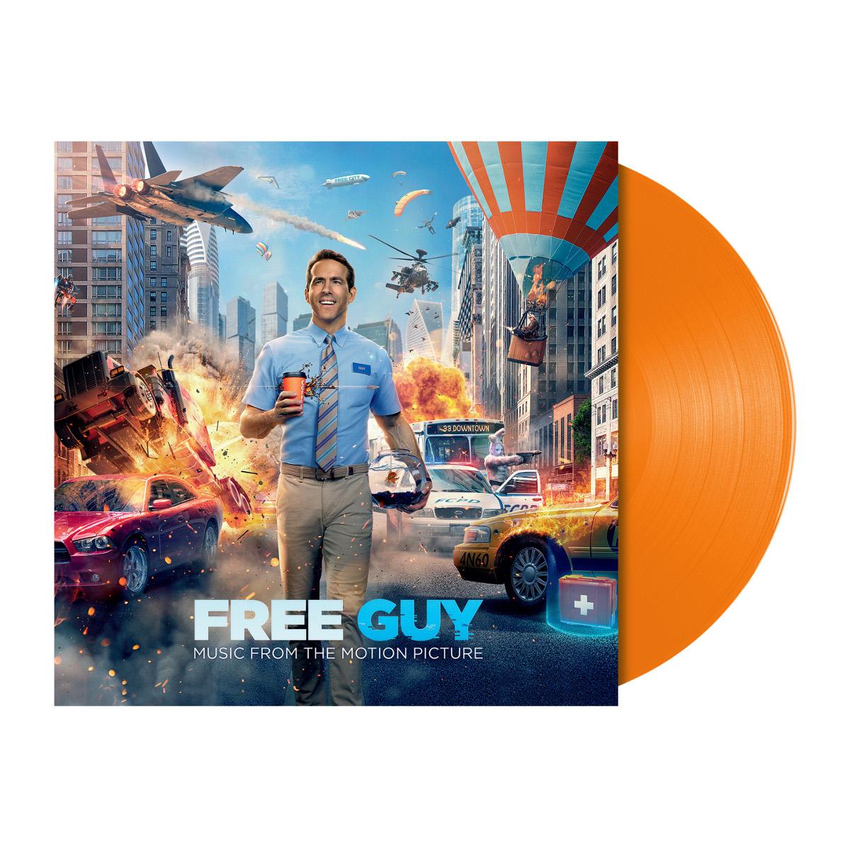 Free Guy Soundtrack Vinyl