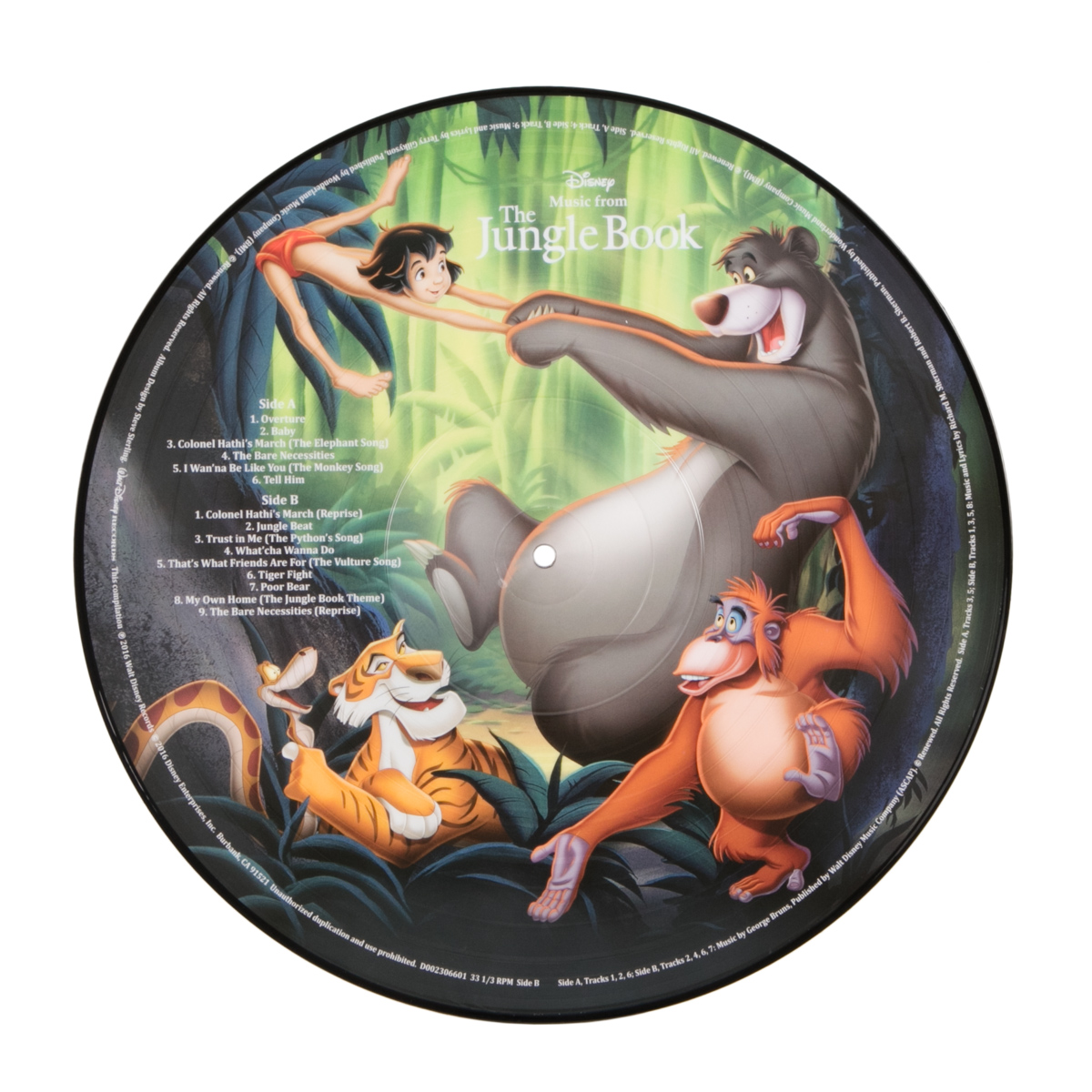 The Jungle Book Picture Vinyl