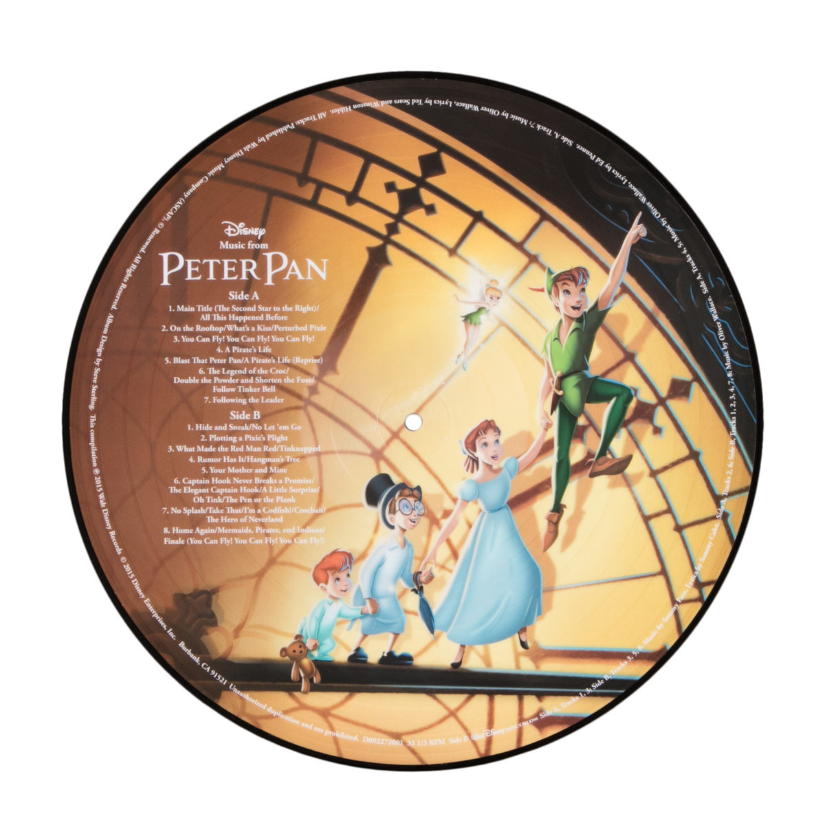 Peter Pan Picture Vinyl