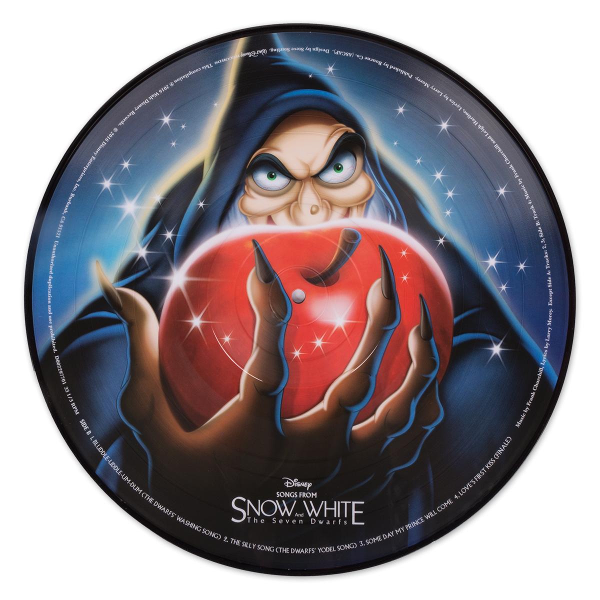 Snow White Picture Vinyl