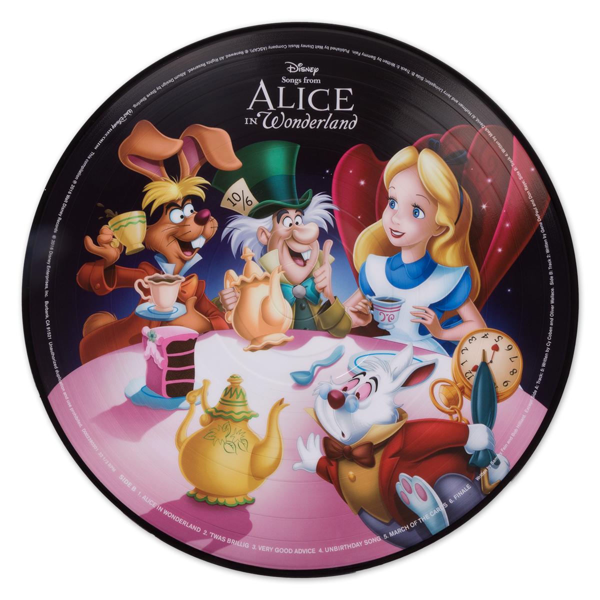Alice In Wonderland Picture Vinyl