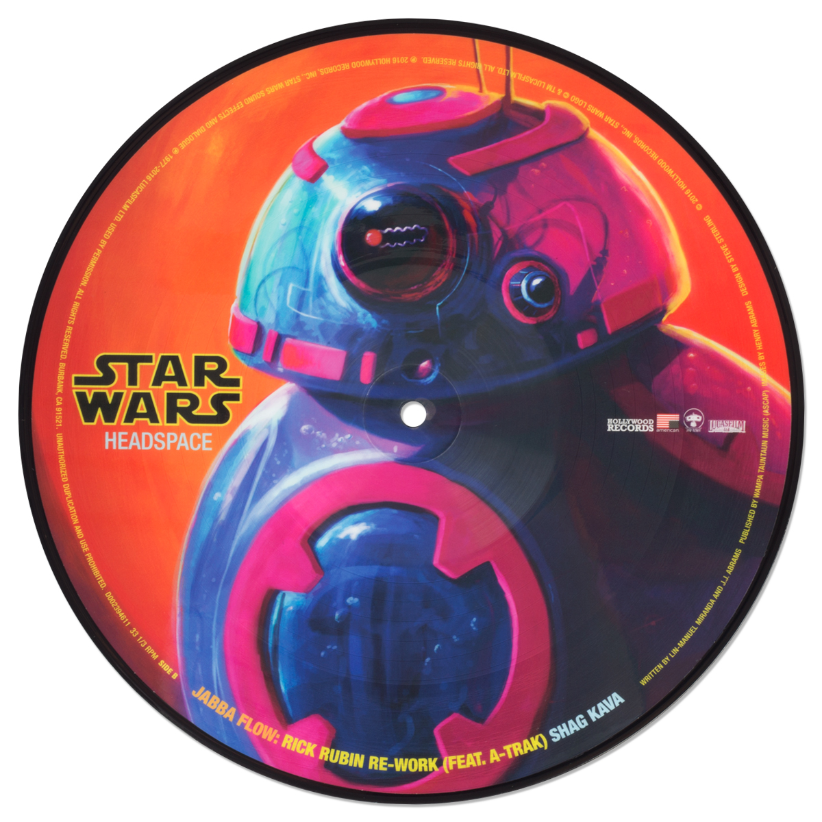 "Star Wars Headspace: Jabba Flow 10"" Picture Disc"