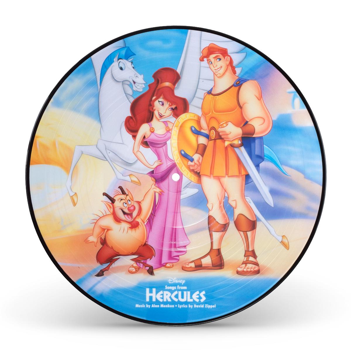 Hercules picture vinyl shop the disney music emporium - Hercule walt disney ...
