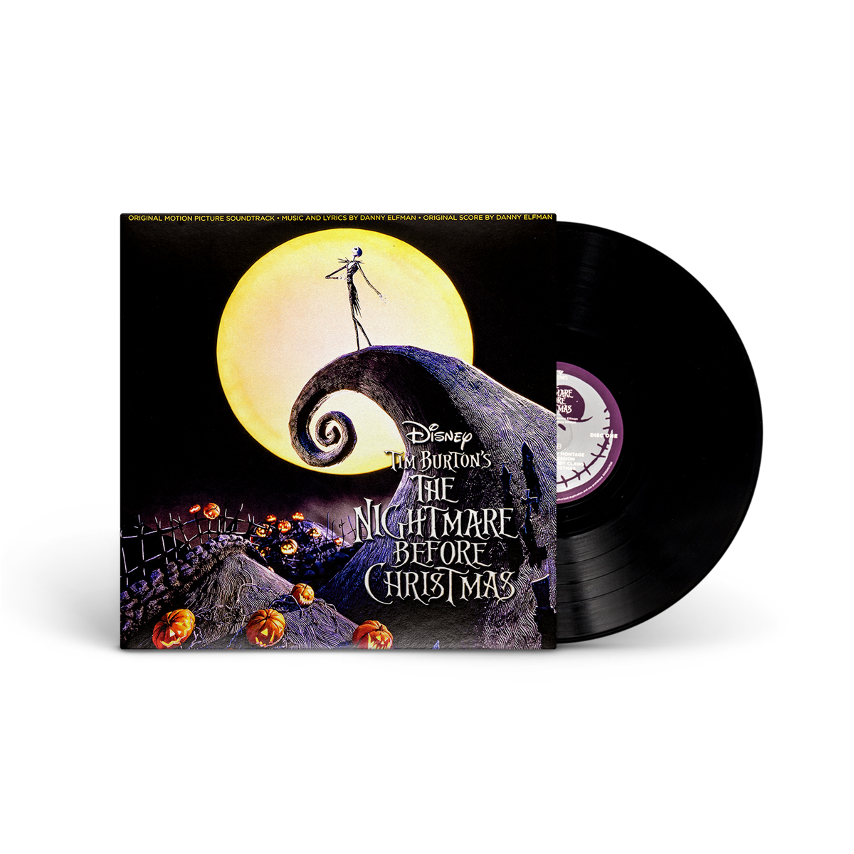 The Nightmare Before Christmas Black Vinyl | Shop the Disney Music ...