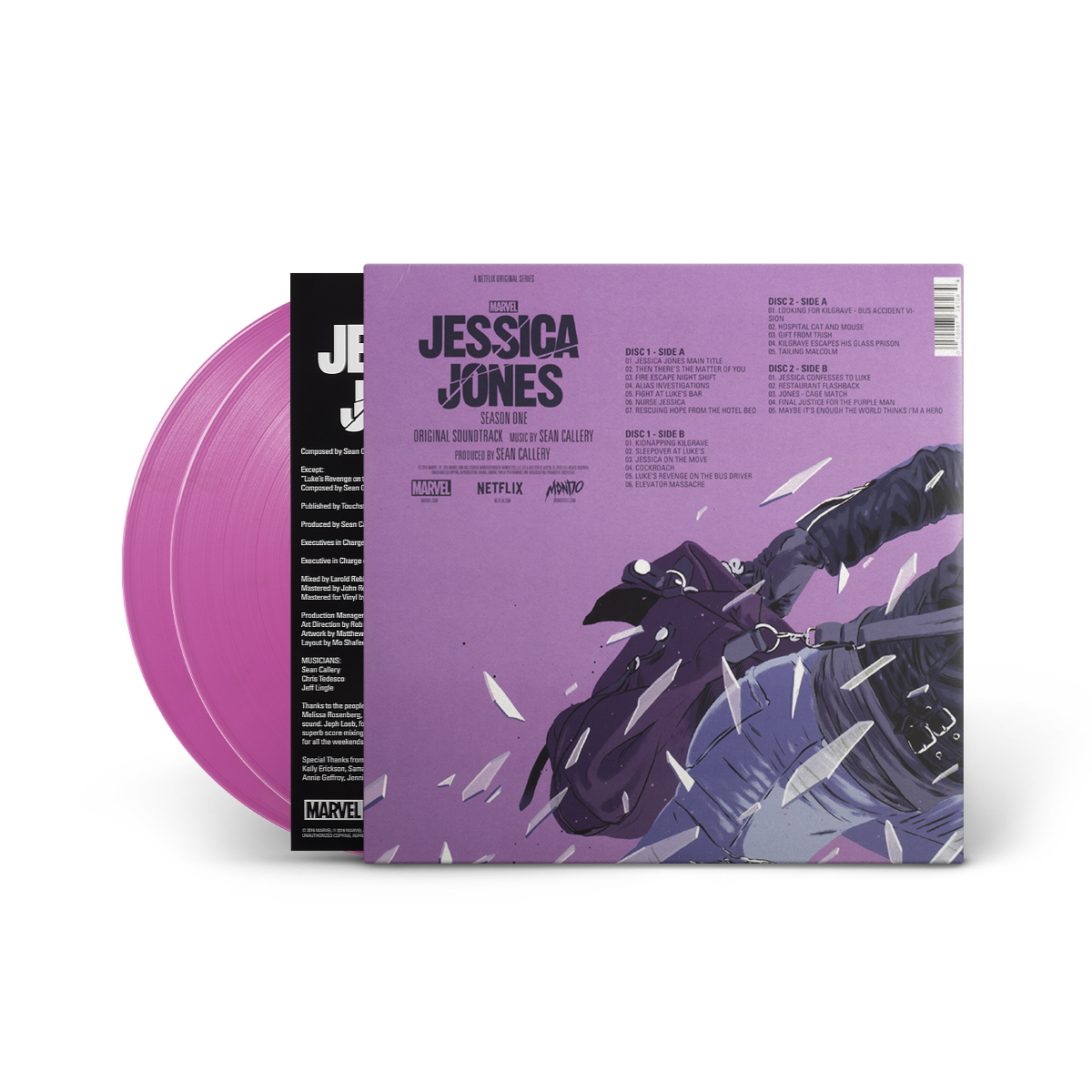 Marvel's Jessica Jones - Original Soundtrack LP