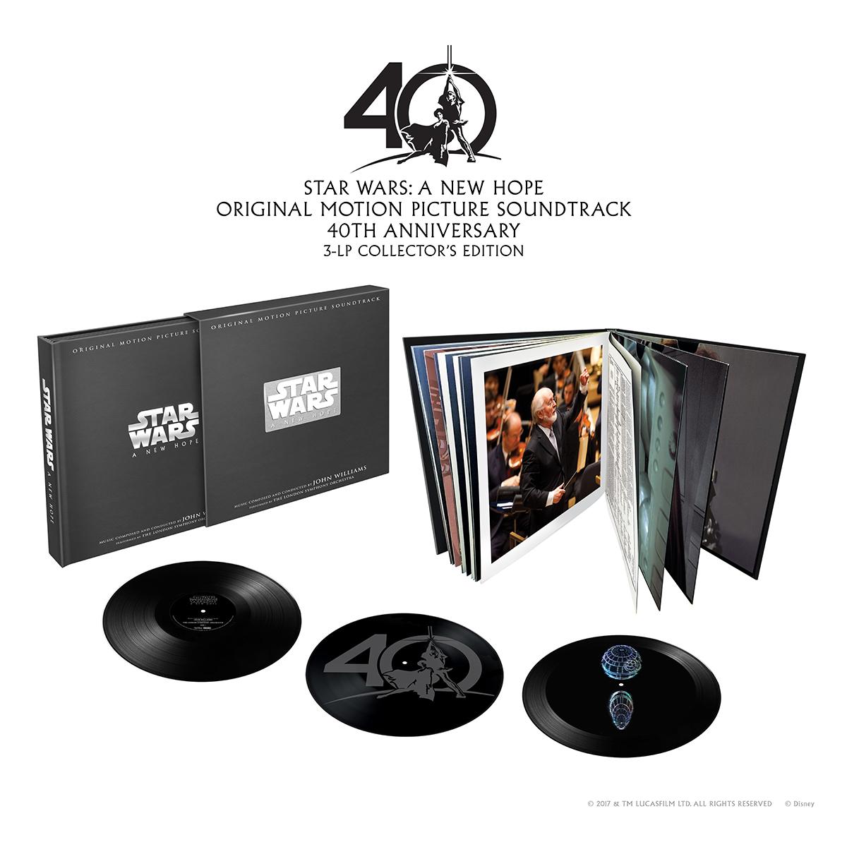 Star Wars A New Hope Vinyl Box Set Disney Music