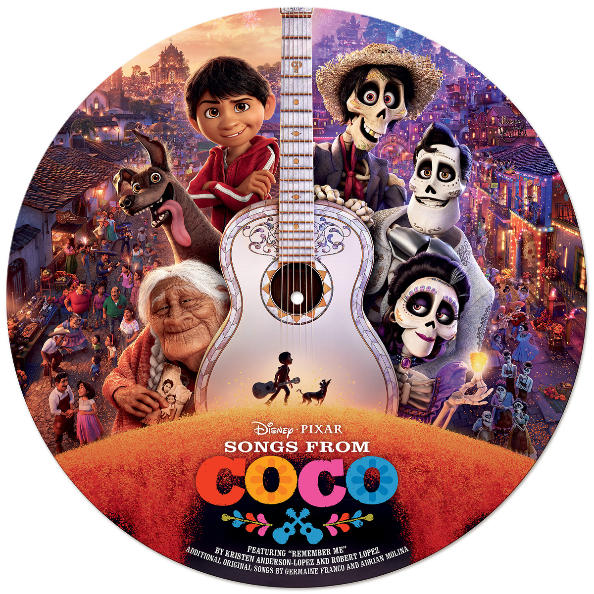 Songs from Coco Picture Vinyl