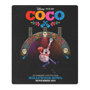 Coco Hollywood Bowl Blanket