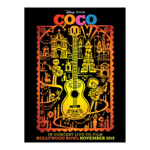 Coco Hollywood Bowl Poster