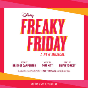 Freaky Friday Studio Cast Recording CD