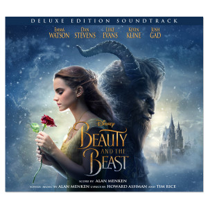 Beauty and the Beast Deluxe Edition Soundtrack and Lithograph