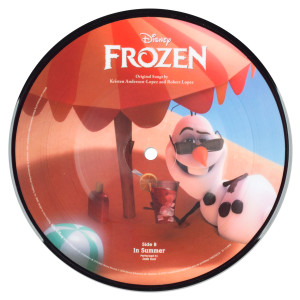 "Frozen: A Pop-Up Adventure and 7"" Picture Vinyl"