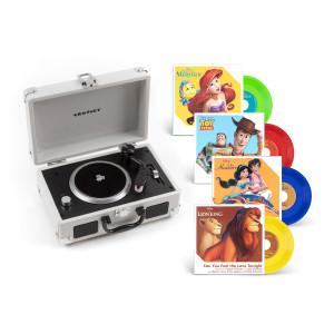 "Disney 3"" Vinyl + Crosley Mini Turntable"