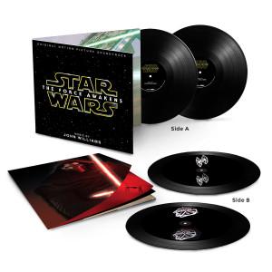 Star Wars: The Force Awakens Two LP Hologram Vinyl