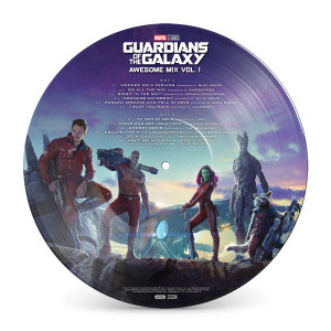 Guardians of the Galaxy Vol. 1 Picture Vinyl
