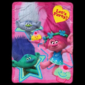 Trolls Let's Party Blanket