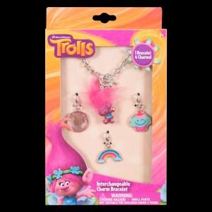 Trolls Charm Bracelet Set