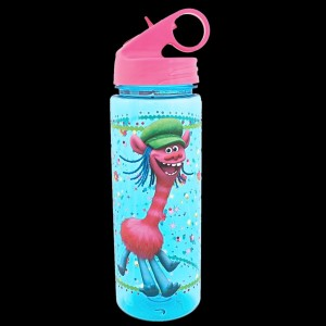 Trolls 600ml Tritan Water Bottle