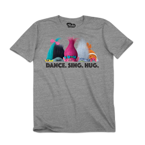 Trolls Dance Sing Hug Youth T-Shirt