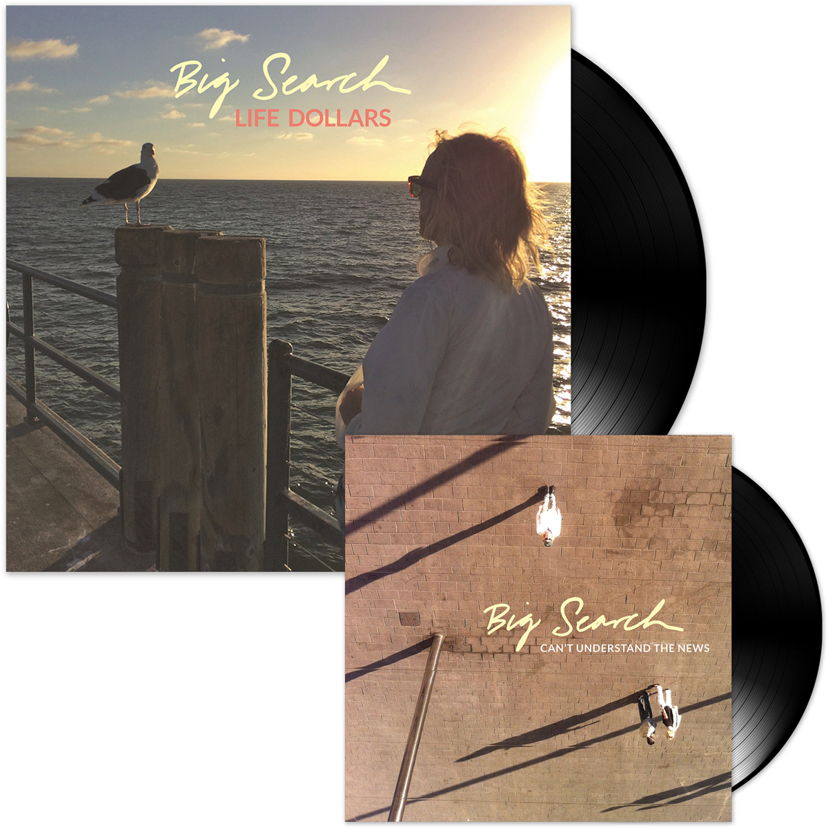 "Big Search Vinyl LP + 7"" Bundle"