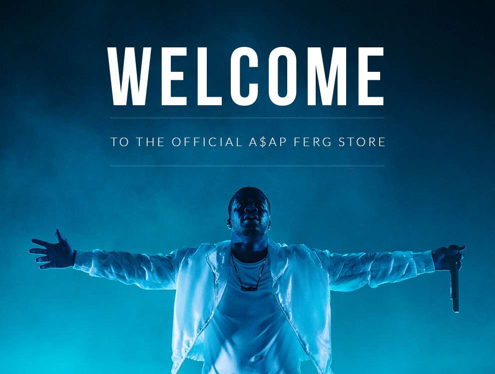 Welcome To The Official A$AP Ferg Store