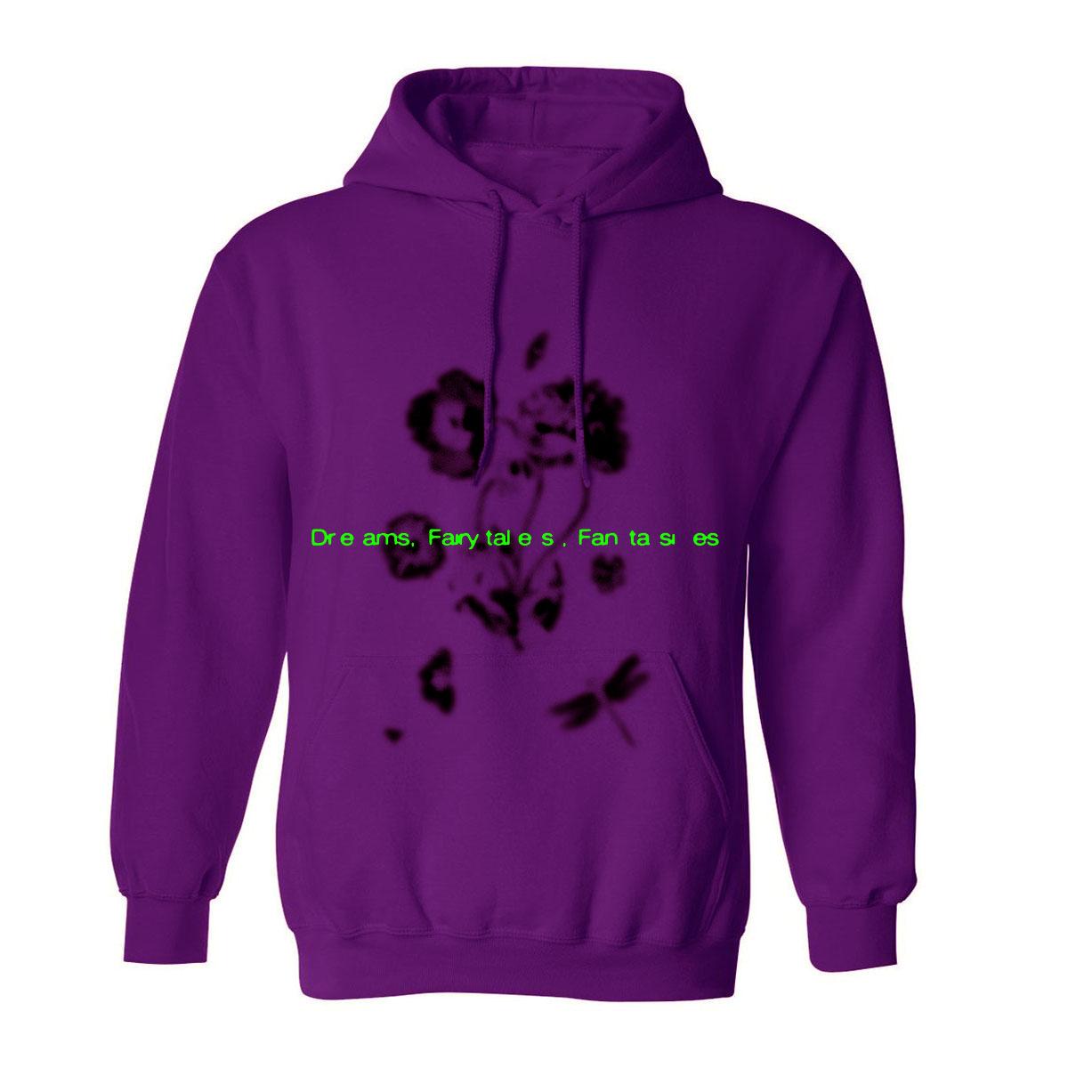 Flower Purple Hoodie