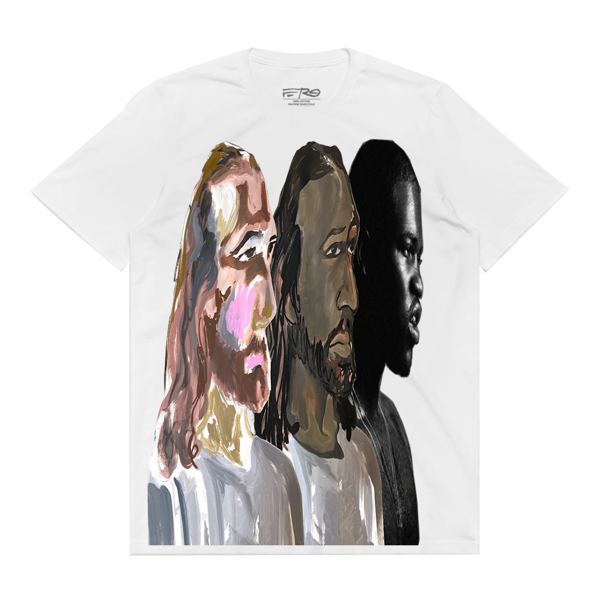 A$AP Ferg x Hidji World Collab White Tee