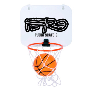 Floor Seats II Mini Basketball Hoop