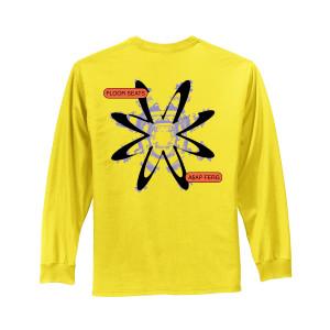 Flower Yellow Long Sleeve Tee