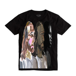 A$AP Ferg x Hidji World Collab Black Tee