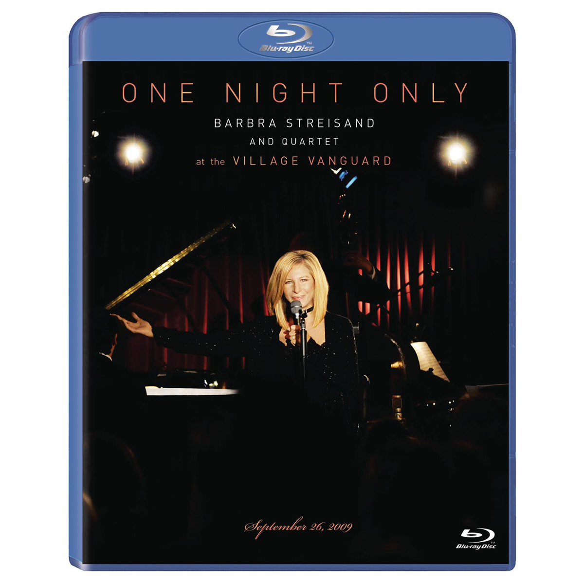 One Night Only Barbra Streisand And Quartet At The Village Vanguard September 26, 2009 - Blu-Ray