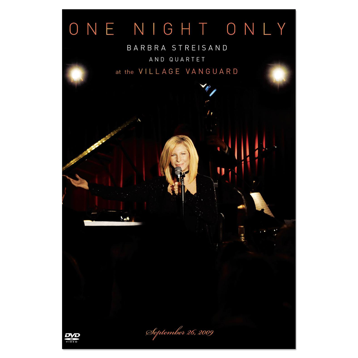One Night Only Barbra Streisand And Quartet At The Village Vanguard September 26, 2009 Deluxe Edition DVD