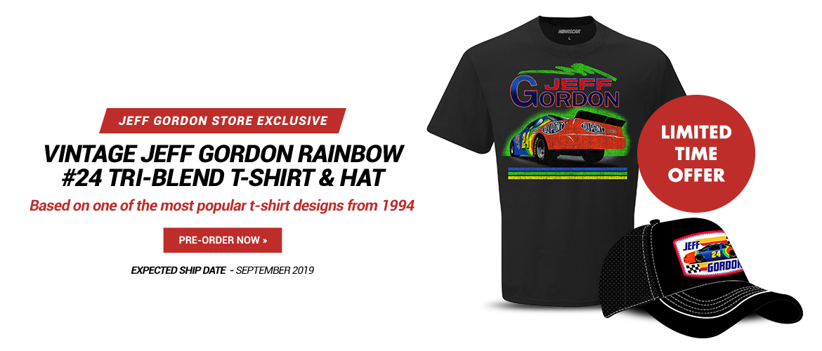Jeff Gordon Vintage Hat and Tee