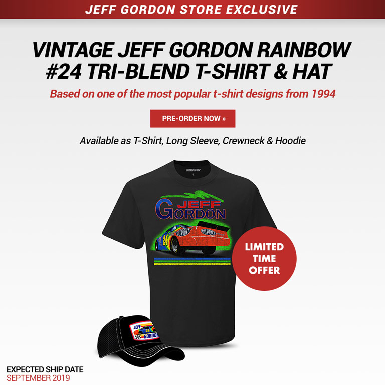 Jeff Gordon Vintage Hta and Tee