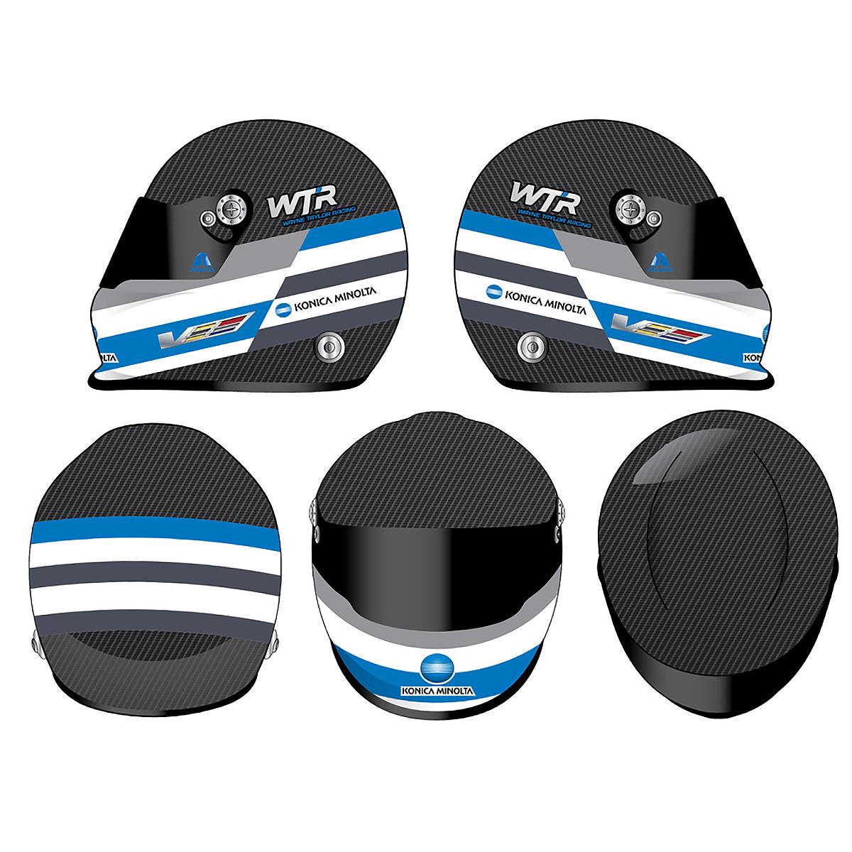 2017 Jeff Gordon Wayne Taylor Racing 24 Hours Full Size Replica Helmet