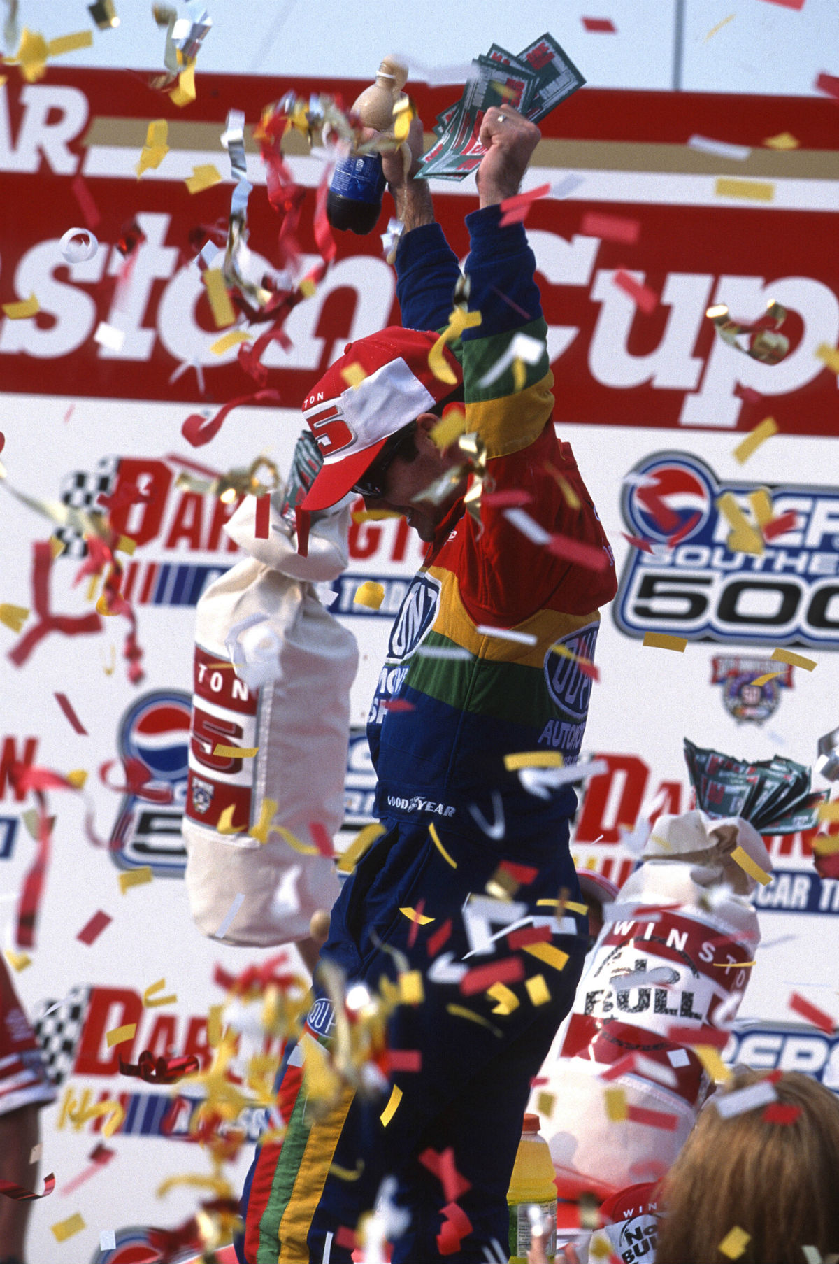 Dual Autographed Jeff Gordon / Ray Evernham 1998 #24 Darlington Race Win 1:24 Scale Die Cast