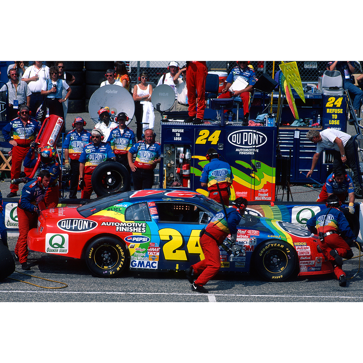 Jeff Gordon 1998 #24 Darlington Race Win 1:24 Scale Die Cast