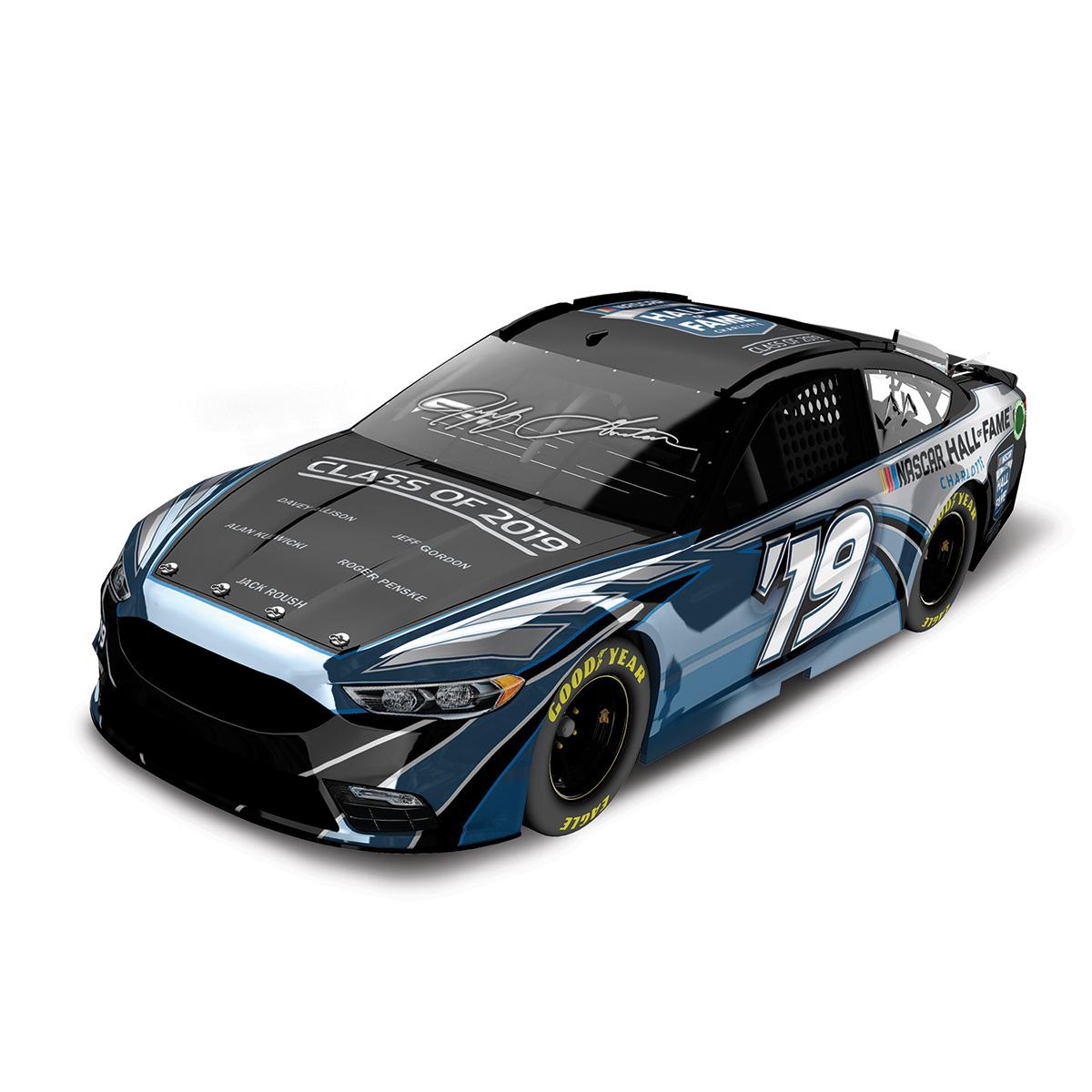Autographed Jeff Gordon NASCAR Hall of Fame Class of 2019 Color Chrome ARC 1:24 Scale Die Cast