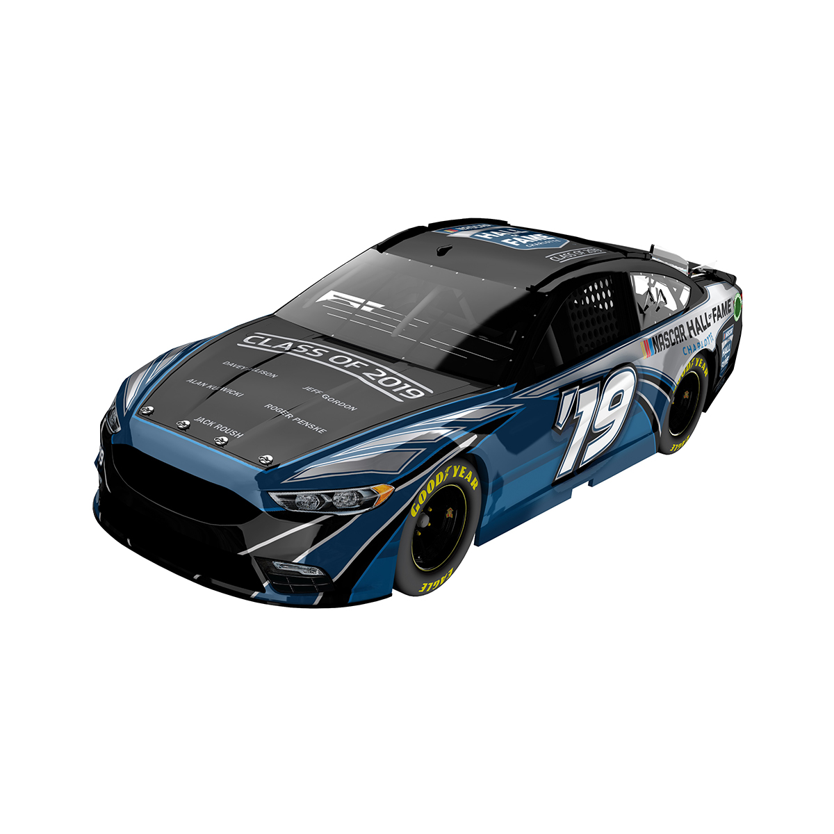 NASCAR Hall of Fame Class of 2019 ELITE 1:24 Scale Die Cast
