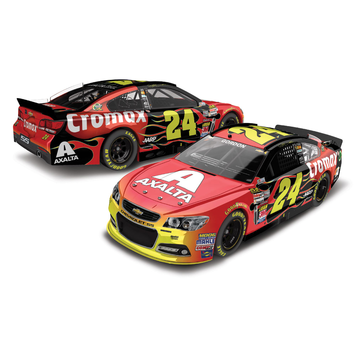 Jeff Gordon 2013 Axalta Cromax Dover #24 ELITE 1:24 Scale Die Cast