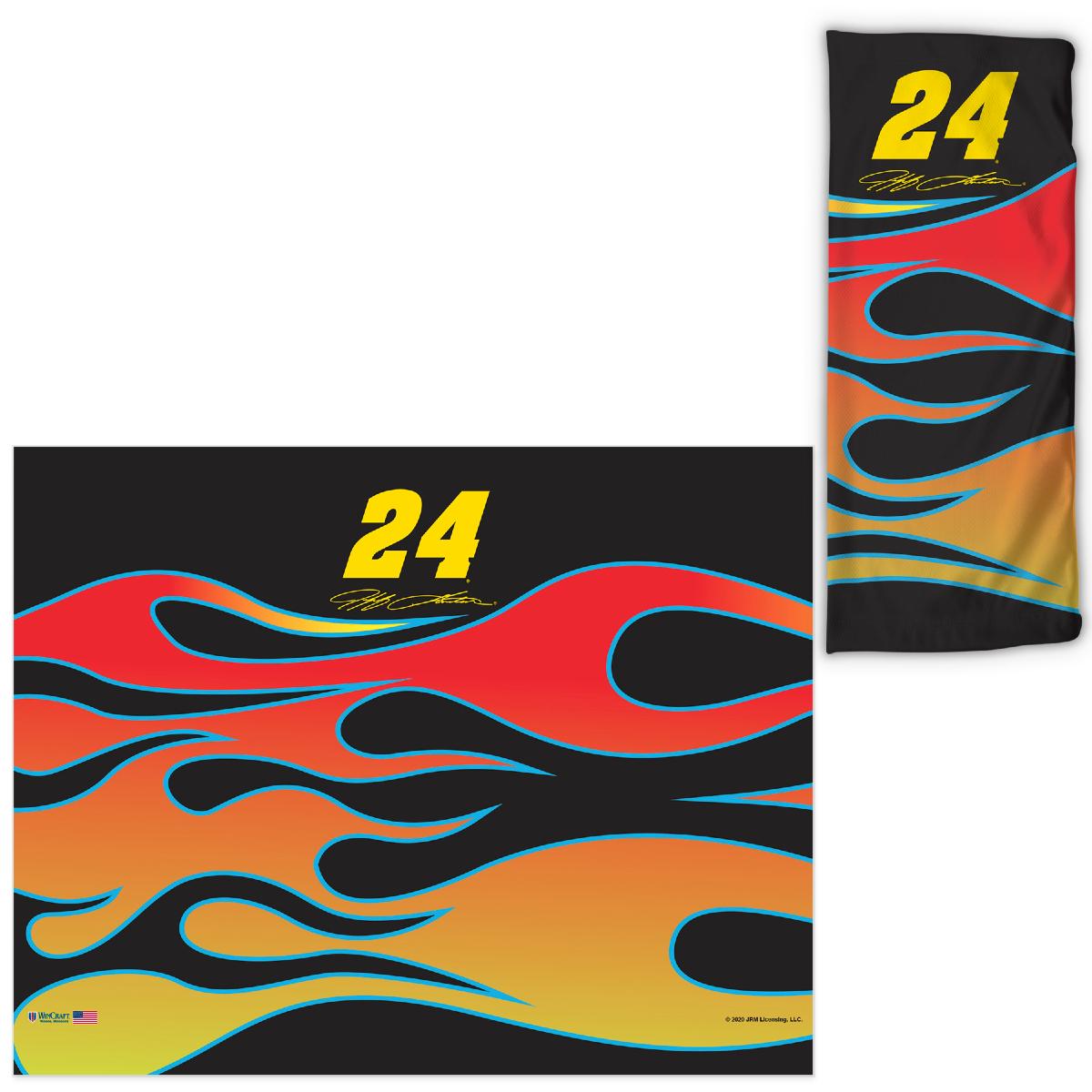 Jeff Gordon Neck Gaiter – Flames