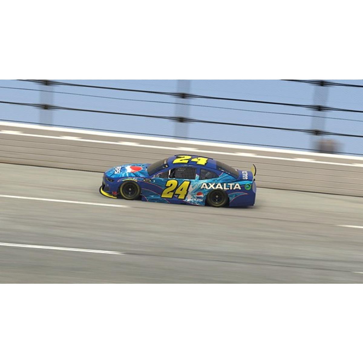 Autographed Jeff Gordon 2020 Pepsi Axalta Throwback iRacing Talladega #24 ELITE 1:24 Scale Die Cast