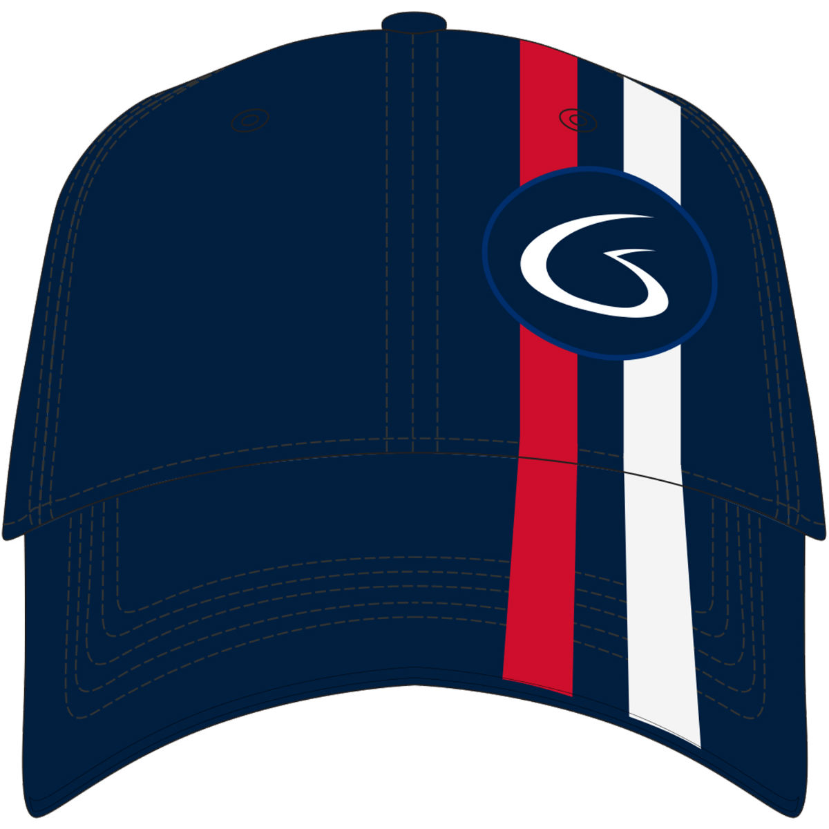 Jeff Gordon Stylized G Patriotic Hat