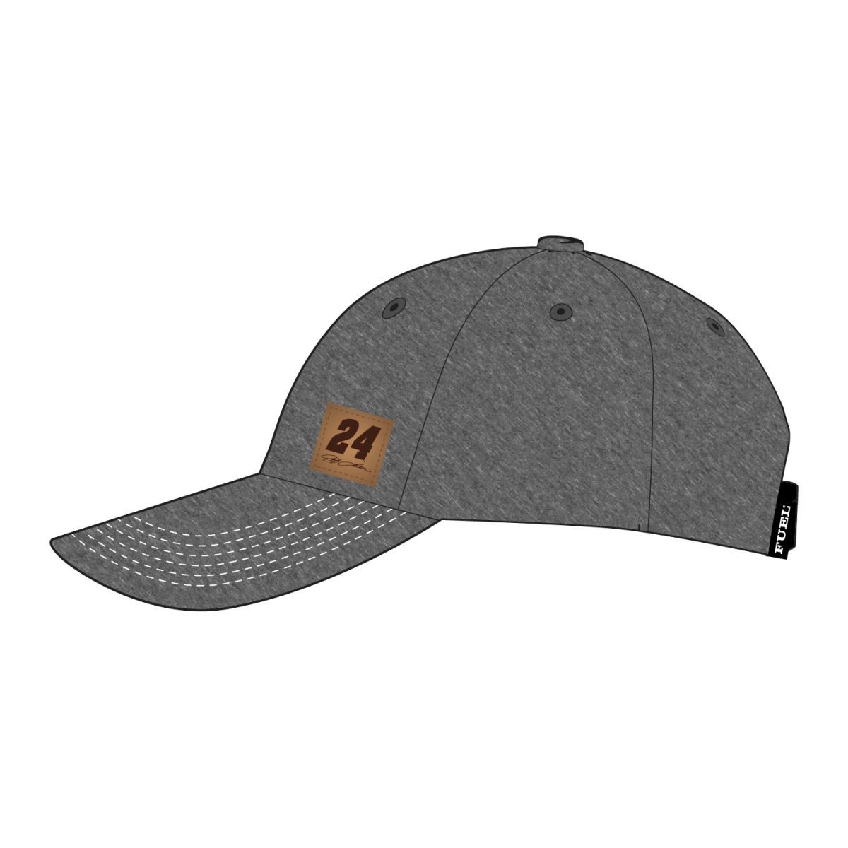 Jeff Gordon #24 Leather Patch Hat by Fuel Clothing