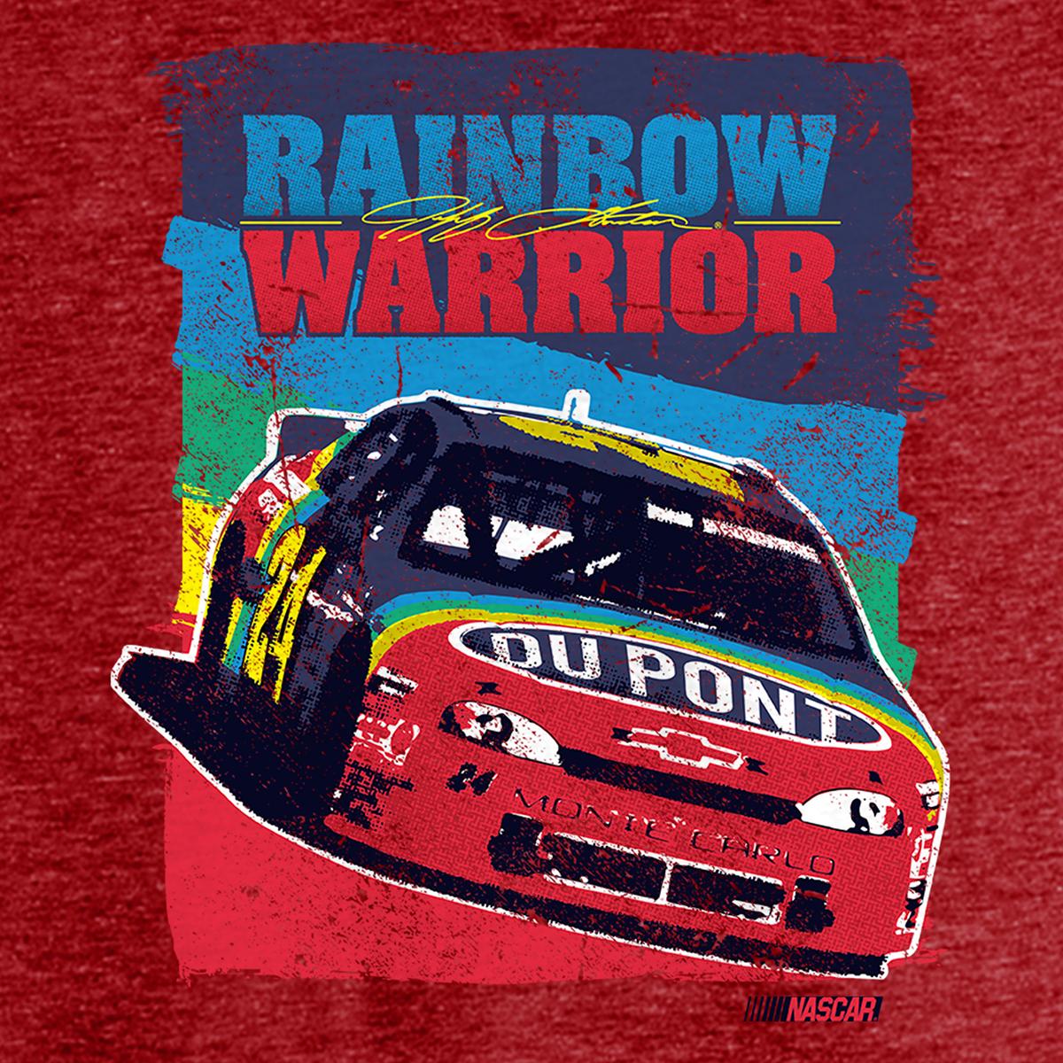 Warriors Of The Rainbow 2 Vietsub: Vintage Jeff Gordon Rainbow Warrior Tri-Blend T-Shirt