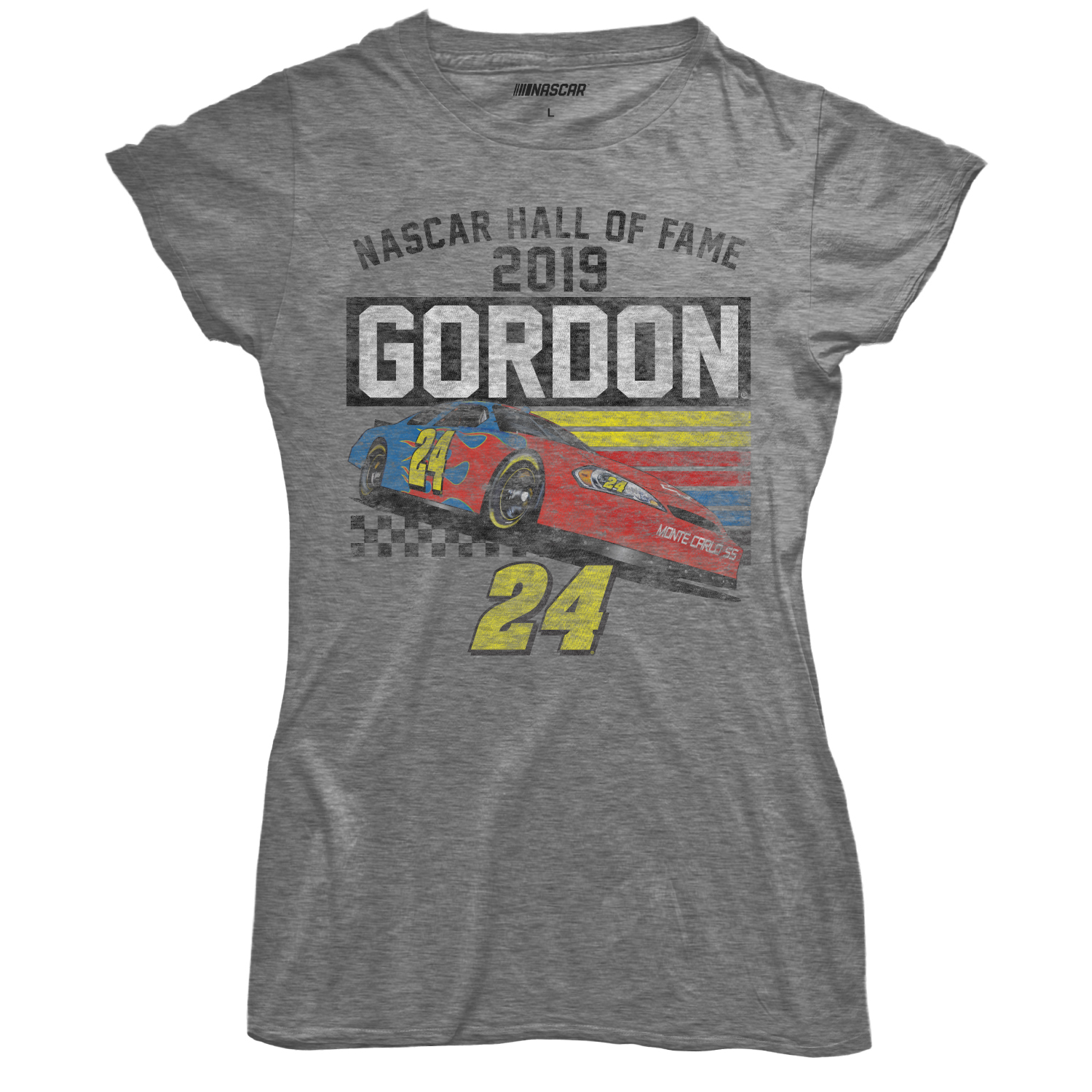 Jeff Gordon Store Exclusive - Ladies 2019 NASCAR Hall of Fame Tri-Blend T-Shirt