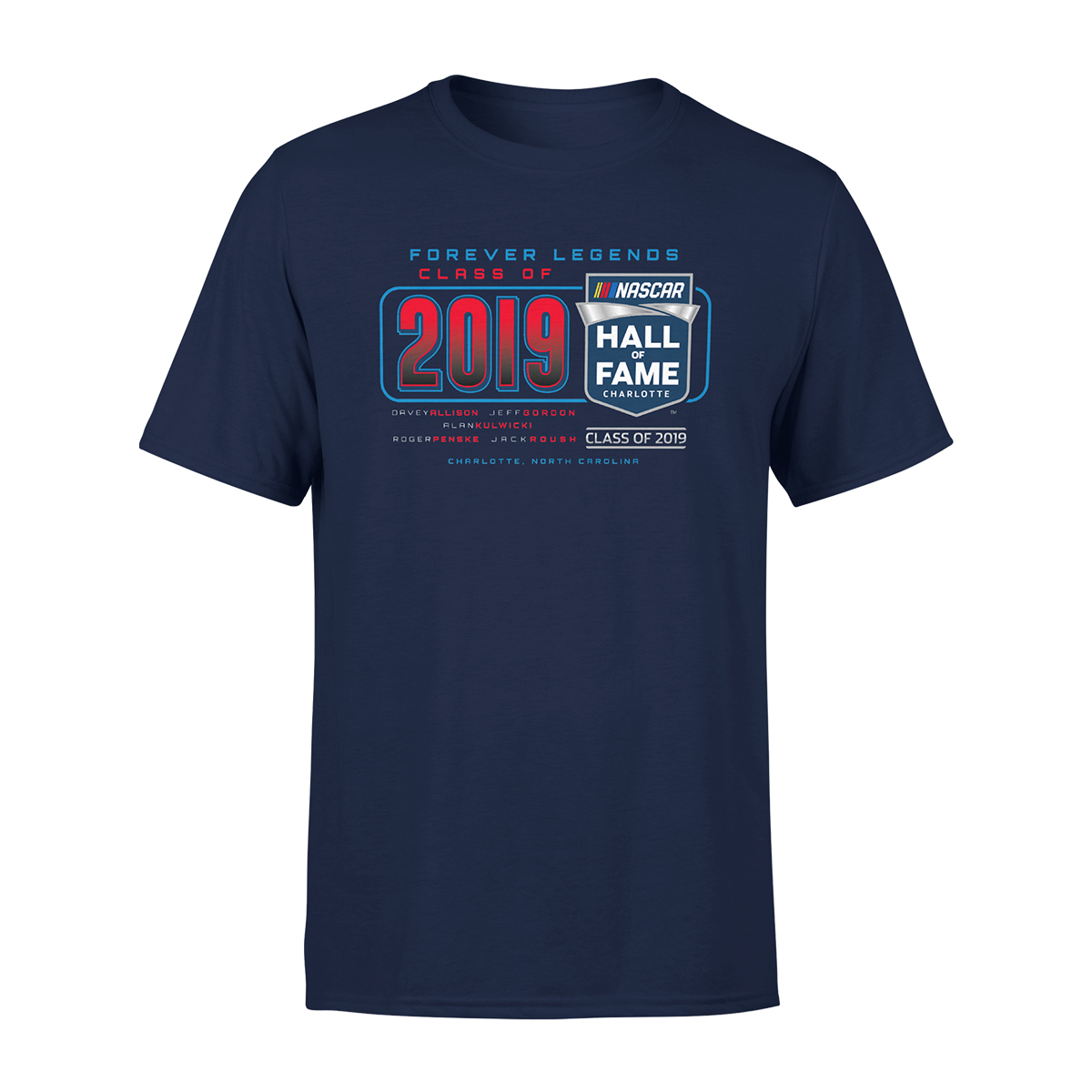 2019 NASCAR Hall of Fame Class Tri-Blend T-Shirt